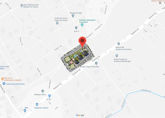 Sevgi Konakları Google Map